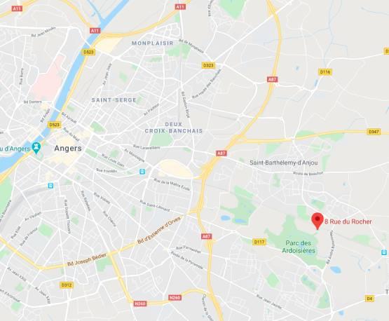 Localisation sur carte