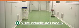 Visite virtuelle des locaux