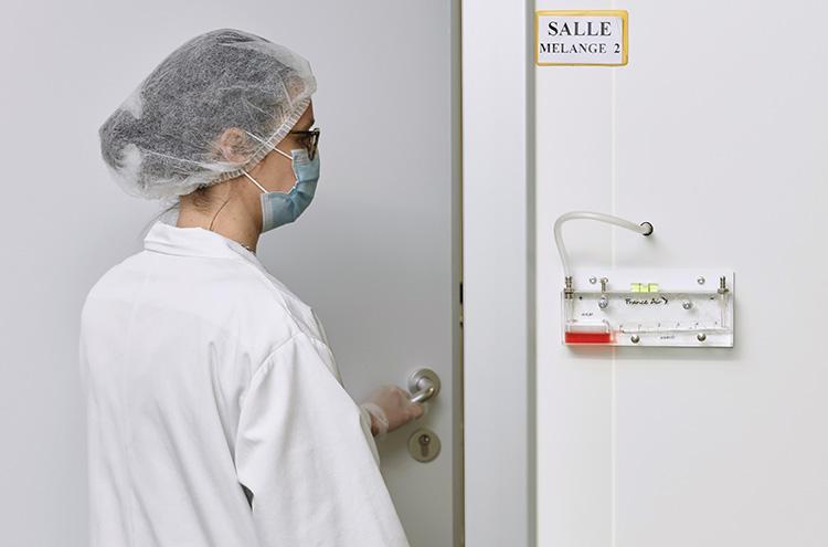 Notre système de gestion de l'air nous permet d'assurer uniformité et conformité à nos production de compléments alimentaire - gélules, poudre, capsules...